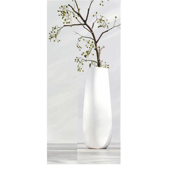 vase en ceramique collection ease hauteur 60 cm diametre 23 cm blanc brillant asa. Black Bedroom Furniture Sets. Home Design Ideas