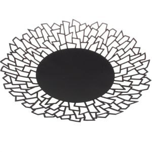 COUPE A FRUITS  NOIR DECOR GEOMETRIQUE HOME - SOCADIS