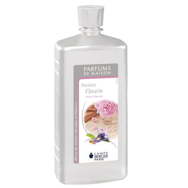 Recharge parfum 1 litre pur lampe diffuseur passion fleurie lampe berger - Lampe berger utilisation ...